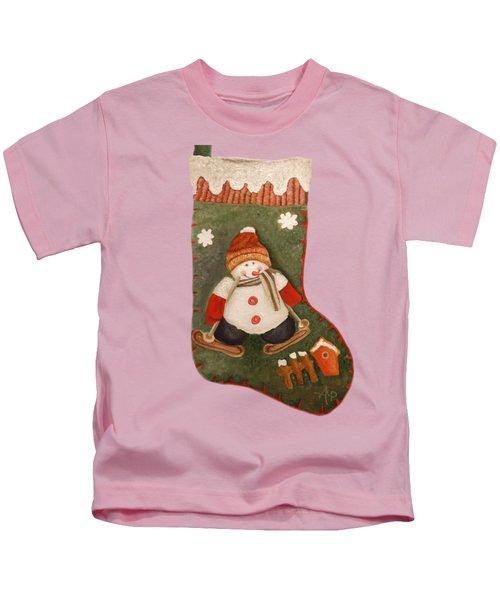 Christmas Stocking Kids T-Shirt