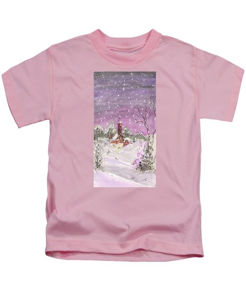 Church In The Snow Kids T-Shirt