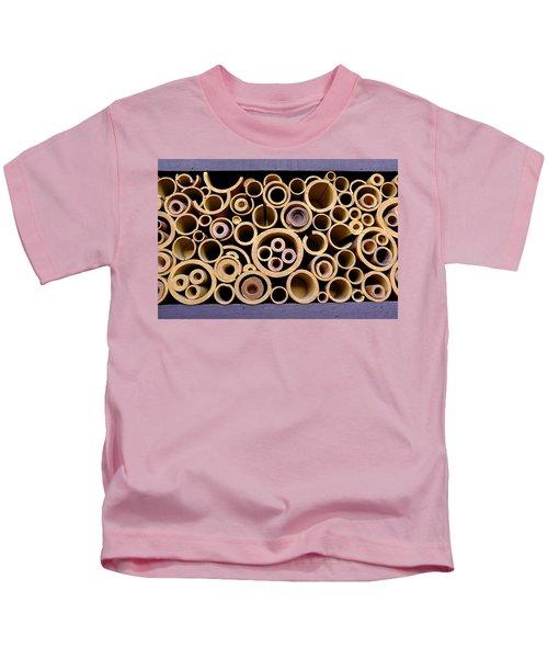 Circles And Hidden Mickeys At Disney In Orlando Florida Kids T-Shirt