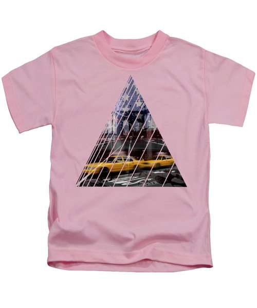 City-art Nyc Composing Kids T-Shirt