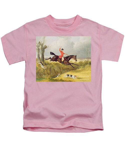 Clearing A Ditch Kids T-Shirt