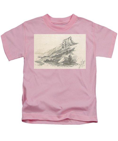 Cliff At Sainte Adresse Kids T-Shirt
