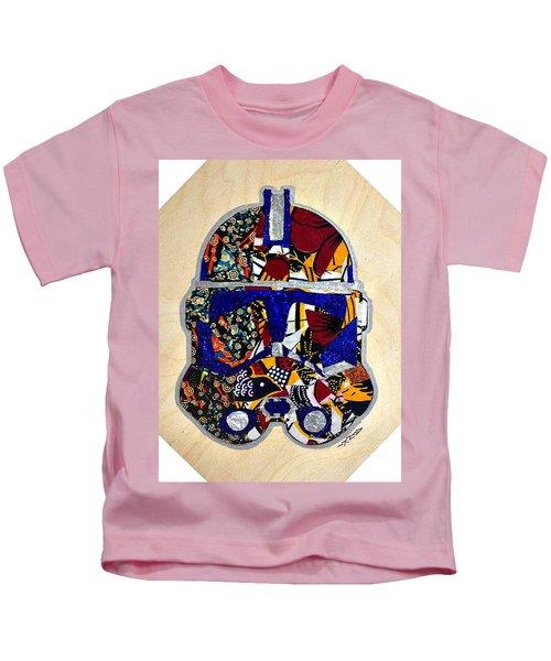 Clone Trooper Star Wars Afrofuturist Kids T-Shirt