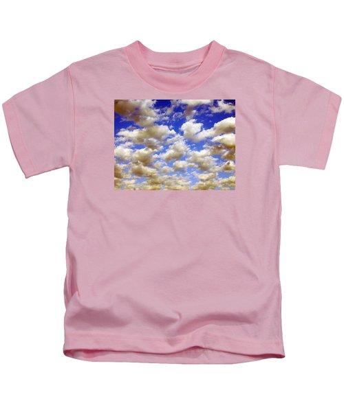 Clouds Blue Sky Kids T-Shirt