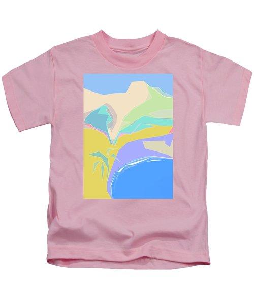 Coast Of Azure Kids T-Shirt