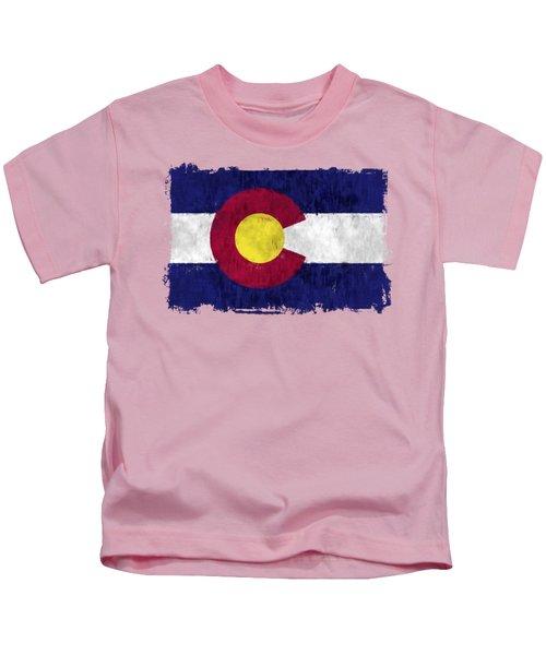 Colorado Flag Kids T-Shirt