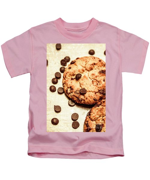 Cookies With Chocolare Chips Kids T-Shirt