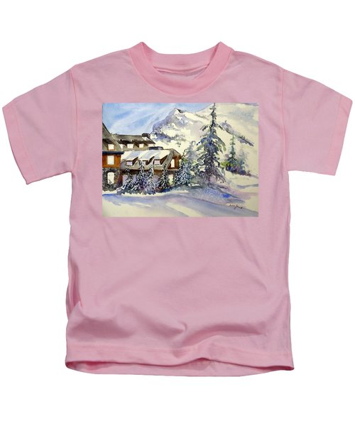 Crater Lake Lodge - Closed For Winter    Kids T-Shirt