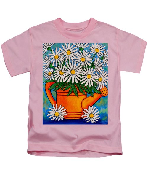 Crazy For Daisies Kids T-Shirt