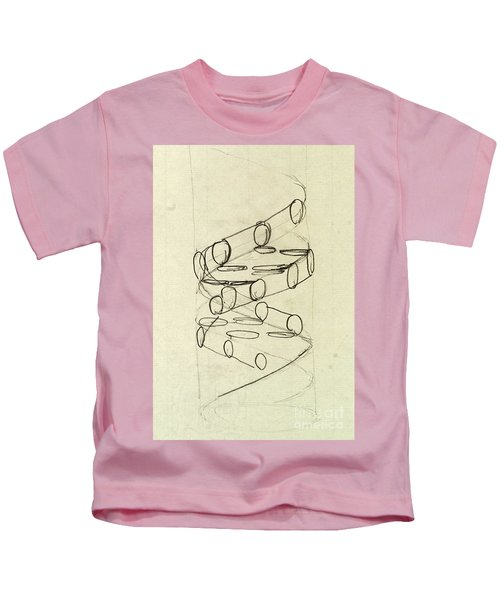 Cricks Original Dna Sketch Kids T-Shirt