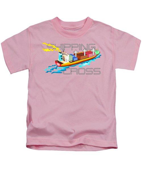 Cross Shipping Kids T-Shirt