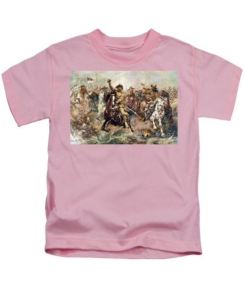 Cuba: Rough Riders, 1898 Kids T-Shirt