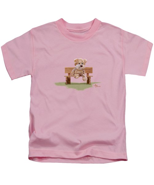 Cuddly At The Park Kids T-Shirt