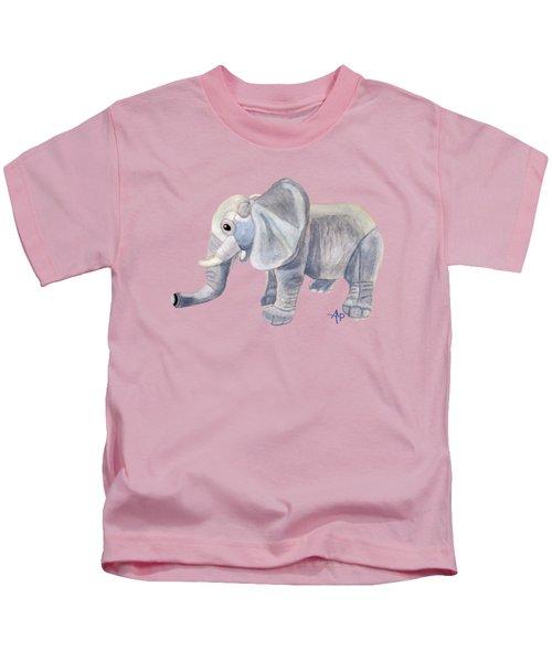 Cuddly Elephant II Kids T-Shirt