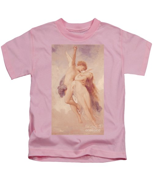 Cupid And Psyche Kids T-Shirt
