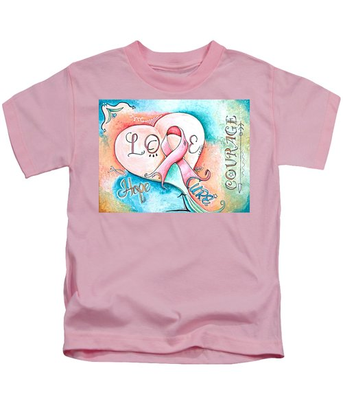 Cure Breast Cancer Kids T-Shirt