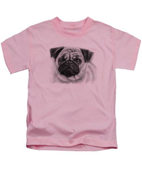 Cute Pug Kids T-Shirt