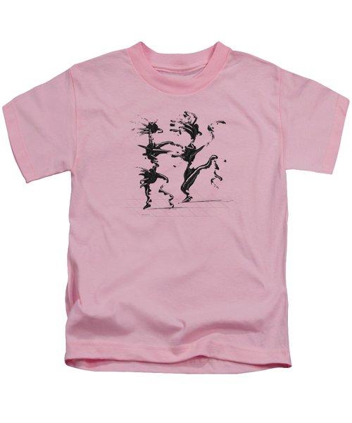 Dancing Couple 4 Kids T-Shirt