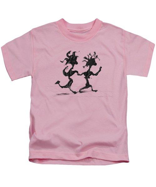 Dancing Couple 7 Kids T-Shirt