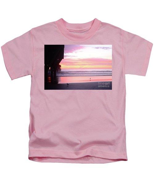 Dawn At The Beach 8-14-16 Kids T-Shirt
