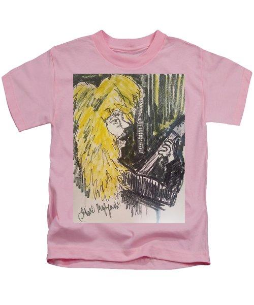 Def Leppard Love Bites Kids T-Shirt by Geraldine Myszenski