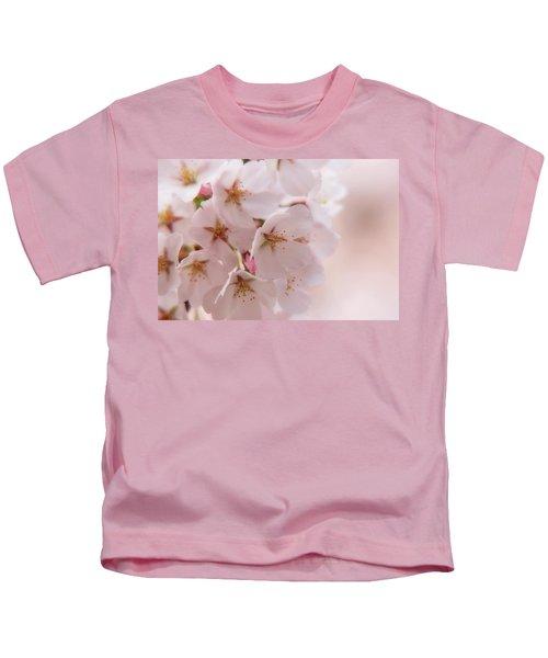 Delicate Spring Blooms Kids T-Shirt