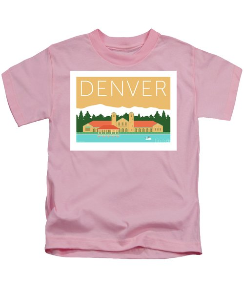 Denver City Park/adobe Kids T-Shirt