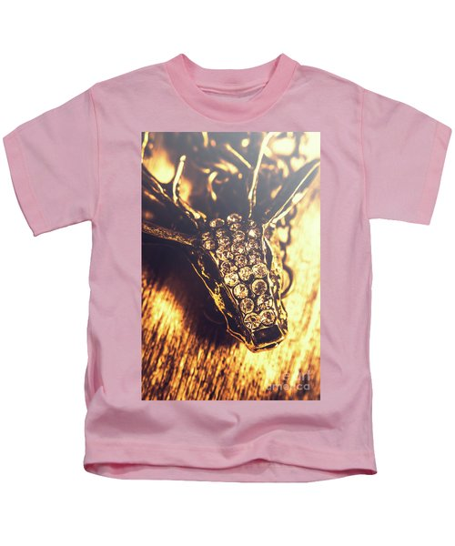 Diamond Encrusted Wildlife Bracelet Kids T-Shirt