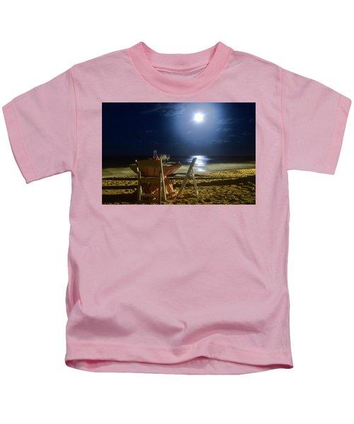 Dinner For Two In The Moonlight Kids T-Shirt