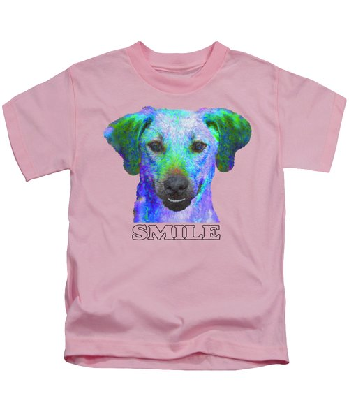 Doggy Smile Kids T-Shirt