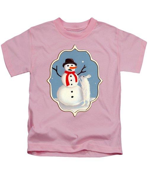 Don't Eat My Nose Kids T-Shirt