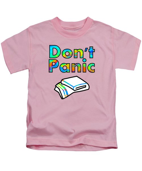 Don't Panic Kids T-Shirt
