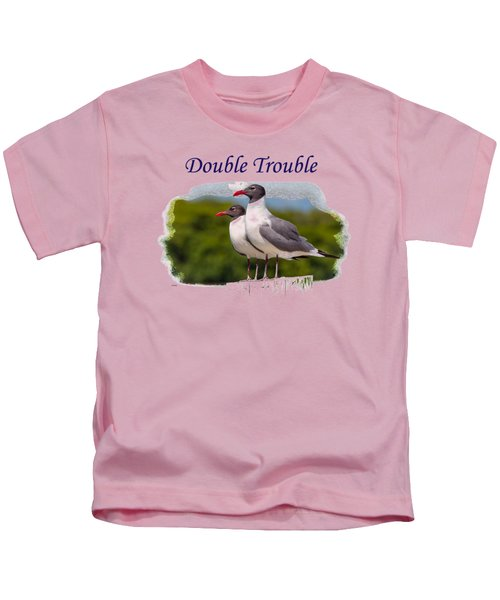 Double Trouble 2 Kids T-Shirt