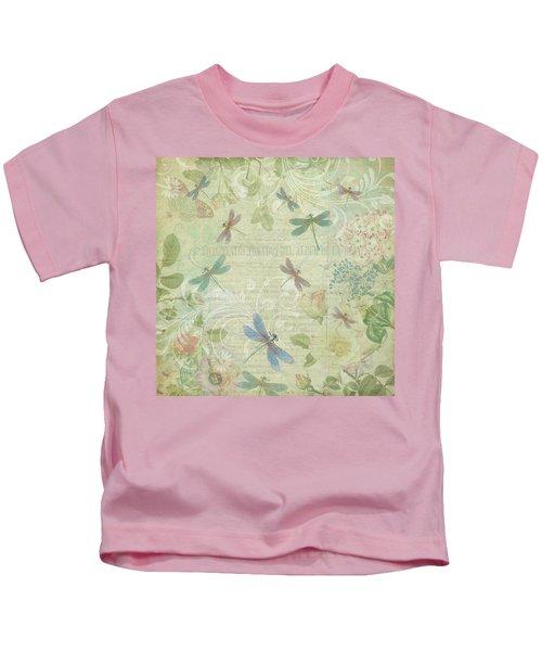 Dragonfly Dream Kids T-Shirt