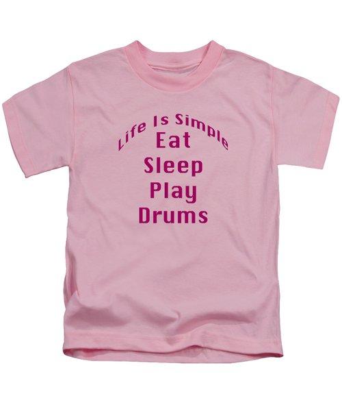Drums Eat Sleep Play Drums 5514.02 Kids T-Shirt