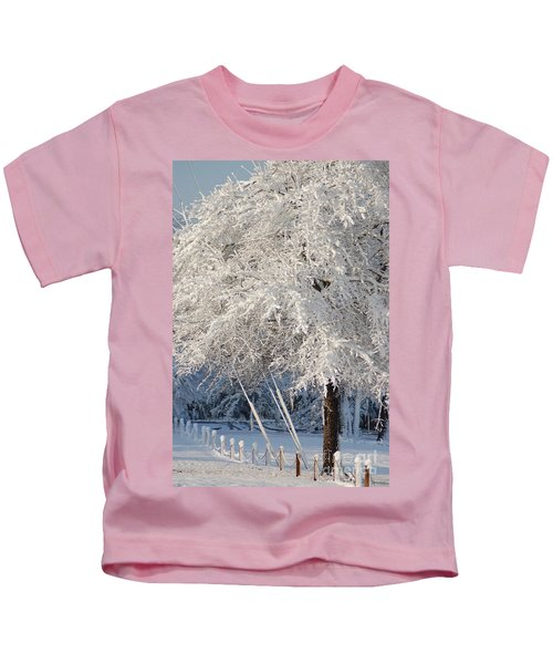 Dusted With Powdered Sugar Kids T-Shirt