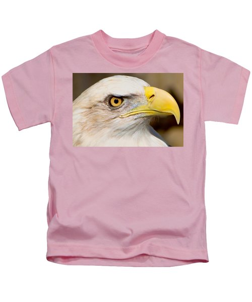 Kids T-Shirt featuring the photograph Eagle Eye by William Jobes