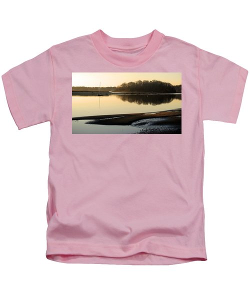 Early Morning Reflections  Kids T-Shirt