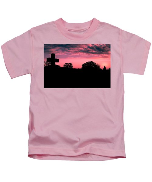 Early On The Hill Kids T-Shirt