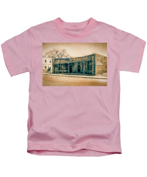 Eat And Drink Kids T-Shirt
