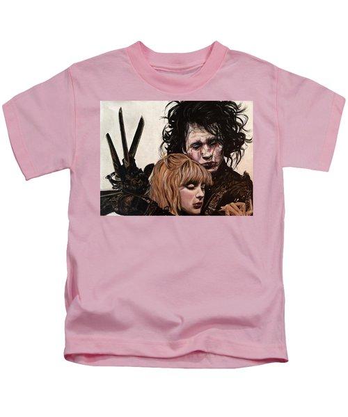 Edward And Kim Kids T-Shirt