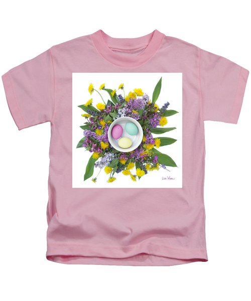 Eggs In A Bowl Kids T-Shirt
