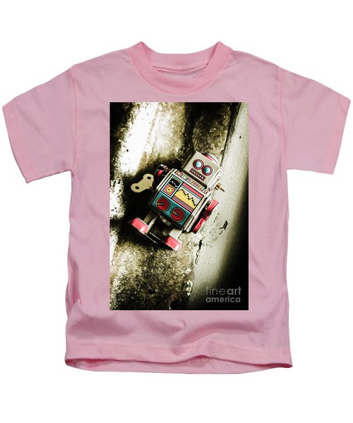 Eighties Cybernetic Droid  Kids T-Shirt