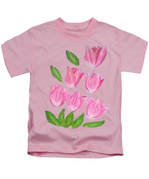 Elite Tulips Kids T-Shirt