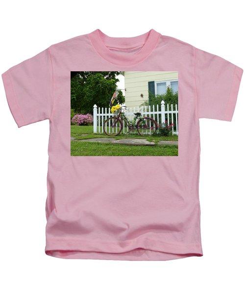 Elmer Bicycle Kids T-Shirt