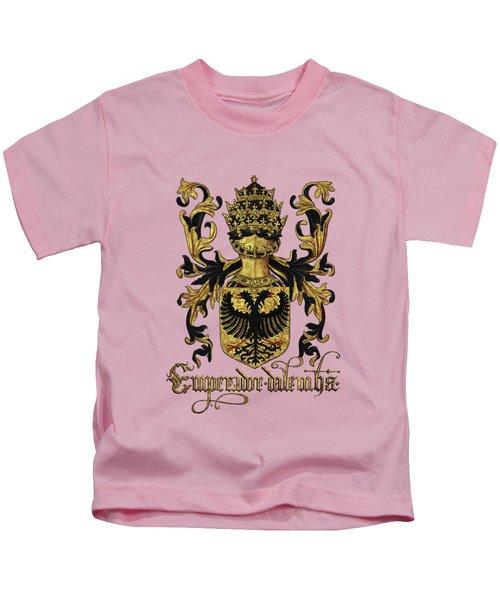 Emperor Of Germany Coat Of Arms - Livro Do Armeiro-mor Kids T-Shirt