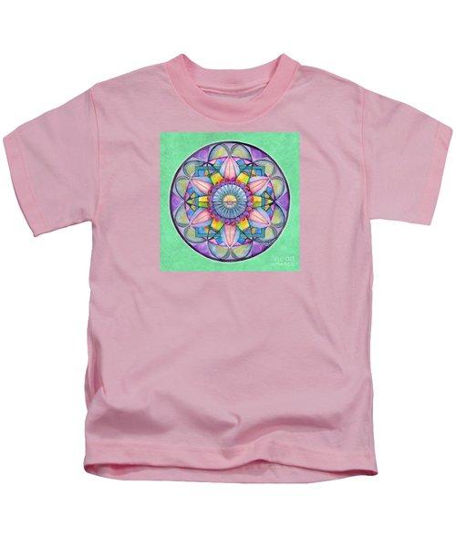 End Of Sorrow Mandala Kids T-Shirt