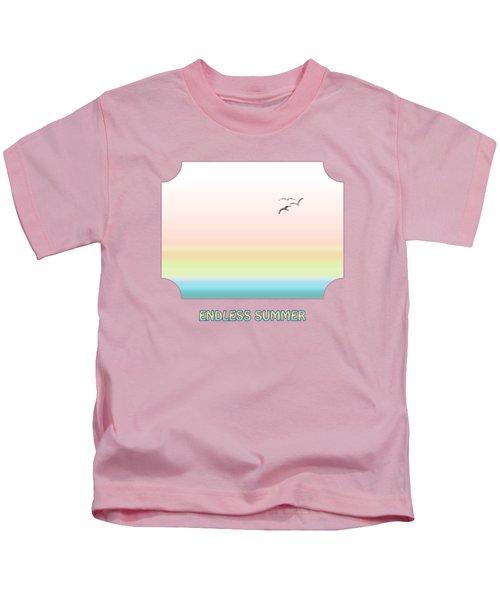 Endless Summer - Yellow Kids T-Shirt