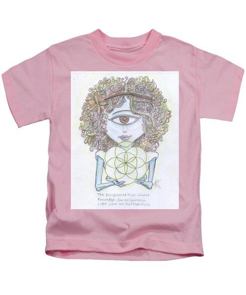 Enlightened Alien Kids T-Shirt