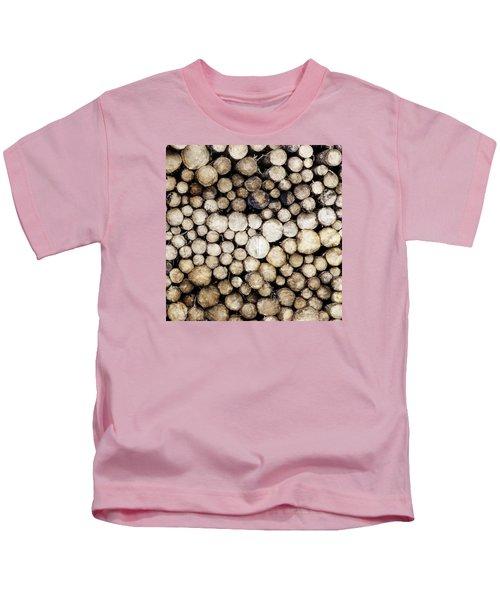 Ever Decreasing Circles Kids T-Shirt